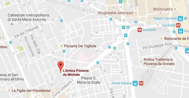 Пицерия LAntica Pizzeria da Michele в Неаполе (ешь, молись, люби)