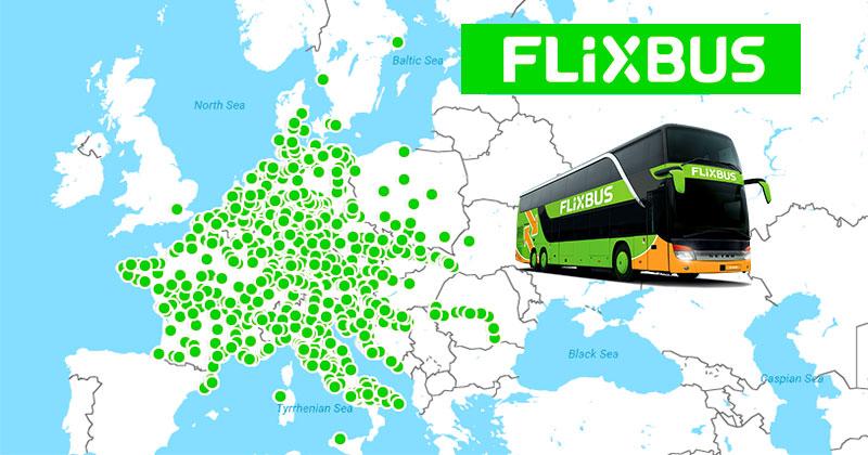 Дешевые автобусы по Европе от flixbus и free travel